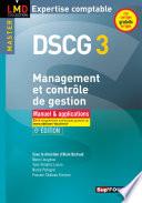 DSCG 3 Management et contr  le de gestion Manuel et applications 6e   dition