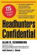Headhunters Confidential Book PDF