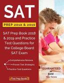 SAT Prep 2018   2019