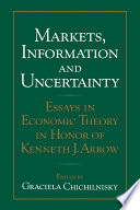 Markets  Information and Uncertainty