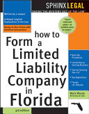 How to Form a Limited Liability Company in Florida
