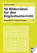 50 Bilderr Tsel F R Den Englischunterricht
