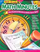 First grade Math Minutes