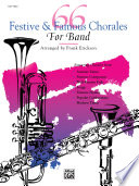 66 Festive And Famous Chorales For Band For 1st F Horn