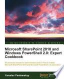 Microsoft SharePoint 2010 and Windows Powershell 2  0