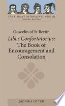 Goscelin of St Bertin  The Book of Encouragement and Consolation  Liber Confortatorius