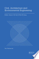Civil  Architecture and Environmental Engineering