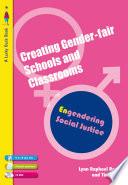 Creating Gender Fair Schools   Classrooms