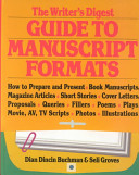 The Writer s Digest Guide to Manuscript Formats