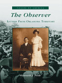 download ebook the observer, letters from oklahoma territory pdf epub