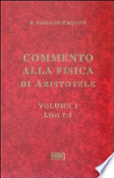 Commento alla fisica di Aristotele   vol  3  Sententia super Physicorum