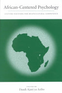 African centered Psychology
