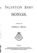 Ebook Salvation army songs, compiled by general Booth Epub William Booth Apps Read Mobile