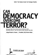 Can democracy overcome terror