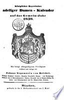 Königlicher Bayerischer adeliger Damen-Kalender