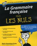 La Grammaire fran  aise pour les Nuls