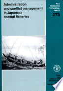 Administration And Conflict Management In Japanese Coastal Fisheries