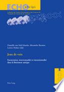 illustration du livre Jeux de voix