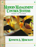 Modern Management Control Systems