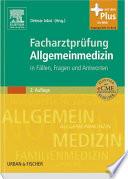Facharztpr  fung Allgemeinmedizin