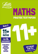 11  Maths Practice Test Papers   Multiple Choice  for the GL Assessment Tests