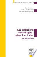 illustration du livre Les addictions sans drogue : prévenir et traiter