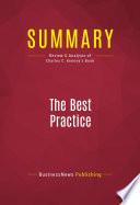 Summary  The Best Practice