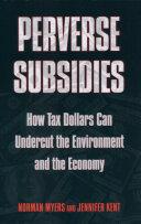 Book Perverse Subsidies