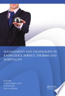 Management and Technology in Knowledge  Service  Tourism   Hospitality