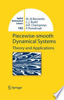 Piecewise smooth Dynamical Systems
