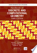 Handbook of Discrete and Computational Geometry  Third Edition