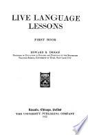 Live Language Lessons     Book PDF