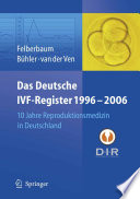 Das Deutsche IVF - Register 1996 - 2006