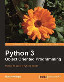 cover img of Python 3 Object Oriented Programming