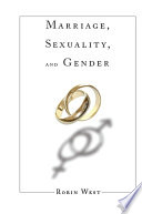 Marriage  Sexuality  and Gender