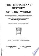 The Historians  History of the World  Prolegomena  Egypt  Mesopotamia