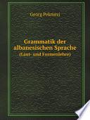 Grammatik der albanesischen Sprache