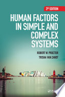 Human Factors in Simple and Complex Systems  Third Edition