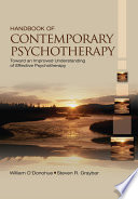 Handbook of Contemporary Psychotherapy