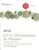 ICD 10 CM Professional for Physicians 2018
