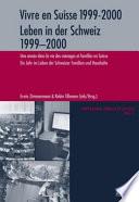 illustration Leben in der Schweiz 1999-2000