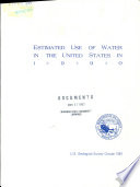 Estimated Use of Water in the United States in