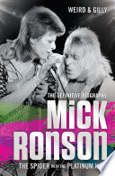 Mick Ronson   The Spider with the Platinum Hair