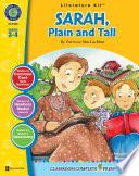Sarah  Plain and Tall   Literature Kit Gr  3 4