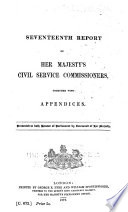 Report of Her Majesty s Civil Service Commissioners