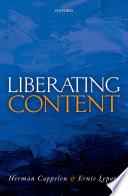 Liberating Content