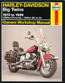 Harley Davidson Big Twins Owners Workshop Manual