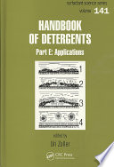 Handbook Of Detergents Part E