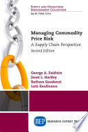 Managing Commodity Price Risk