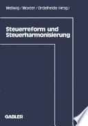 Steuerreform und Steuerharmonisierung